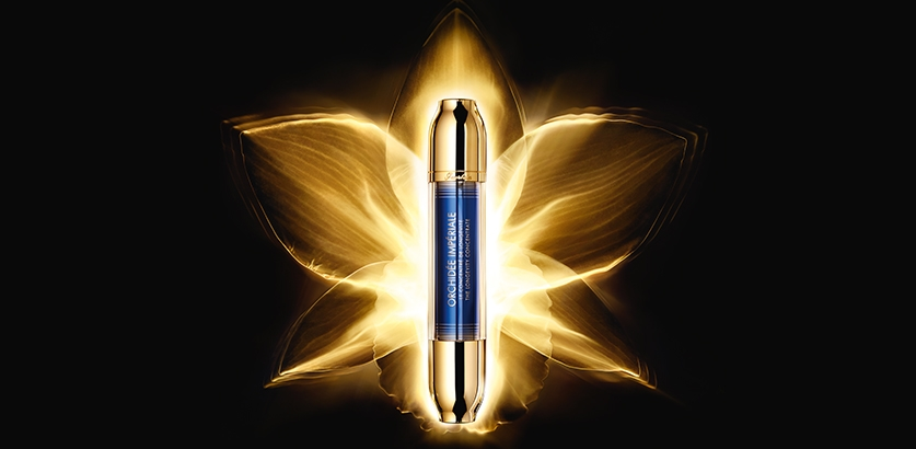 VISUAL CAMPAIGN SERUM GUERLAIN ORCHIDEE IMPERIALE