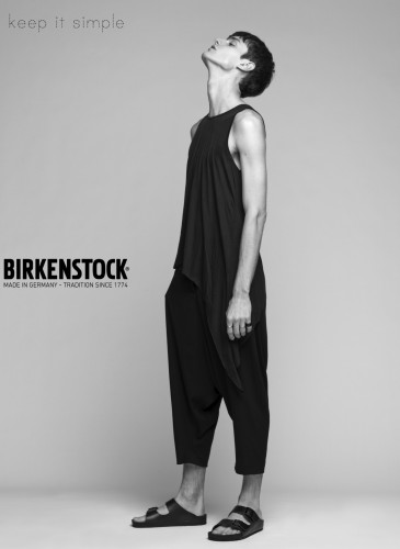 Campagne homme Birkenstock simple page