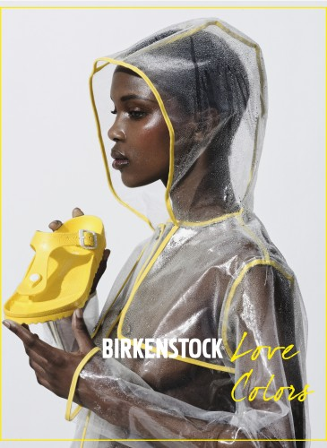 Birkenstock SS16 New campaign model Aliane Uwimana Gatabazi Shot by Marc Hervouet Creative director Benjamin Armand production KP Production Hair/makeupMickael Jauneau